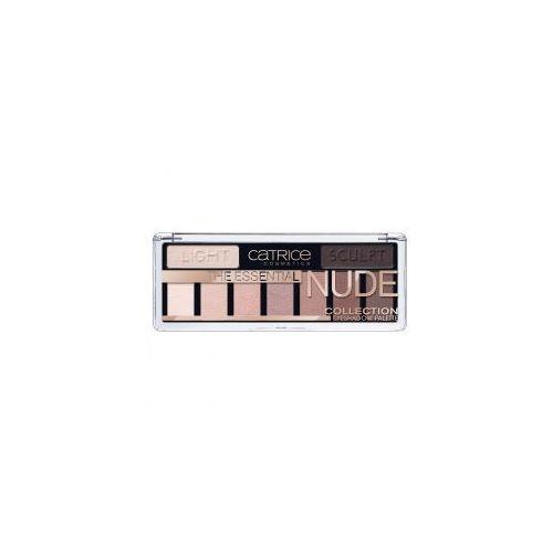 Catrice  the essential nude collection eyeshadow palette, paleta cieni do powiek