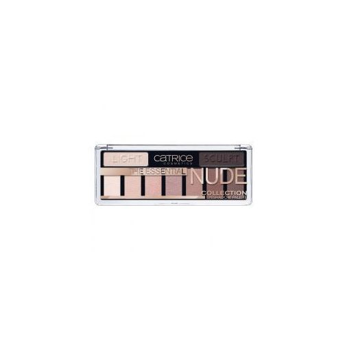 the essential nude collection eyeshadow palette, paleta cieni do powiek marki Catrice
