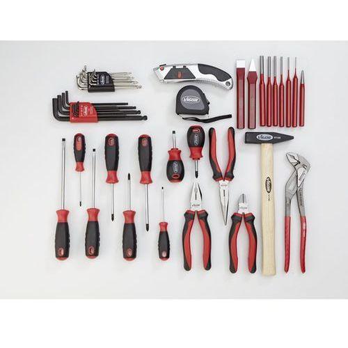 Zestaw narzędzi essential, zestaw narzędzi combi, 21-częściowy, luzem (bez wkład marki Vigor