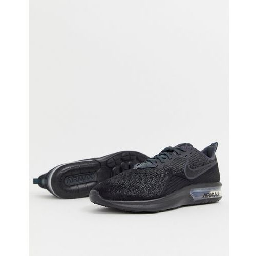 air max sequent 4 trainers in black ao4485-002 - black marki Nike running