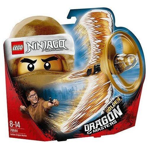 OKAZJA - 70644 ZŁOTY SMOCZY MISTRZ (Golden Dragon Master) KLOCKI LEGO NINJAGO