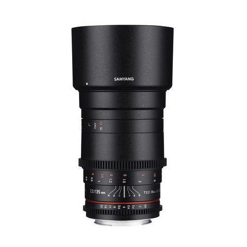 Samyang 135mm T2.2 VDSLR ED UMC Canon - produkt w magazynie - szybka wysyłka!, F1312201101