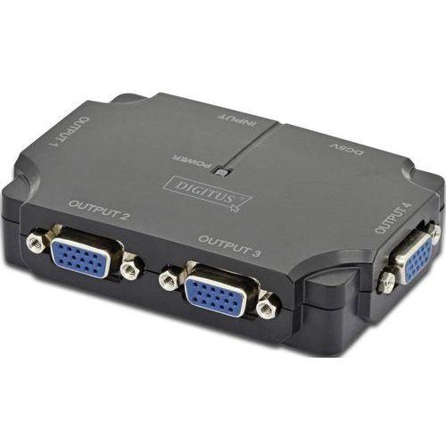 Digitus Splitter VGA 350MHz (DS-42120-1) Darmowy odbiór w 19 miastach!