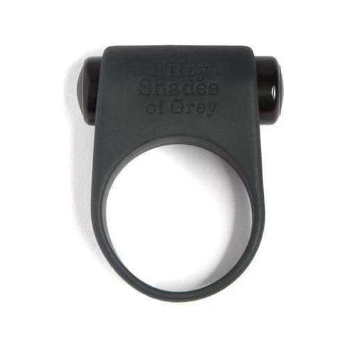 Pierścień wibrujący na penisa -  feel it vibrating cock ring marki 50 shades of grey