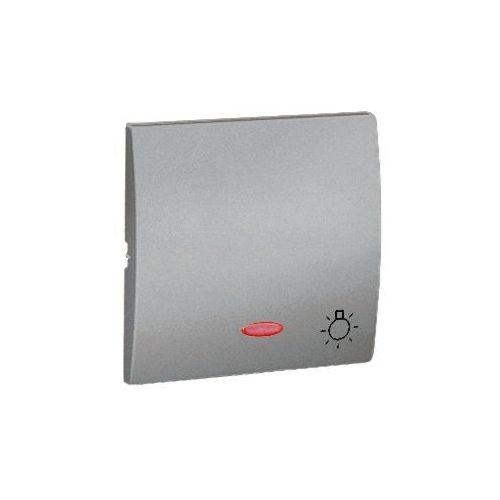 Klawisz pojedynczy z piktogramem światła do podświetlenia CLASSIC Aluminium
