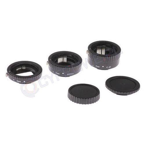 Delta MeiKe Pierścienie pośrednie 12/20/36 do Nikon wersja ECO - produkt z kategorii- Tuleje i pierścienie redukcyjne