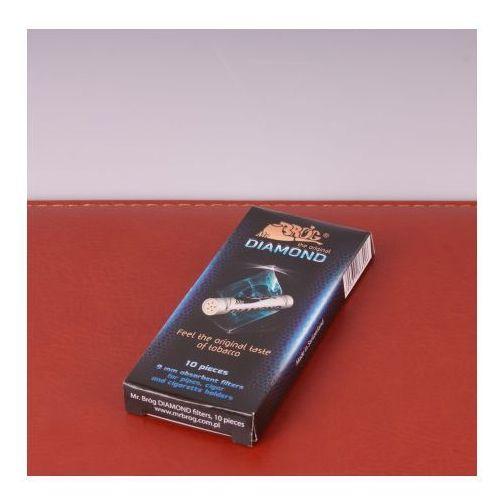 Filtr fajkowy węglowy 9 mm 10szt Filtry do fajki Diamond Mr Bróg z kategorii Akcesoria do wyrobów tytoniowych