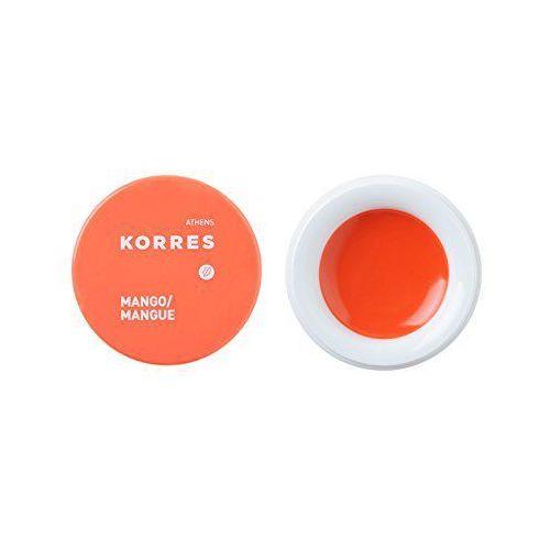 Korres lip jasmine/peach do masła, 6 g (0116482035024)