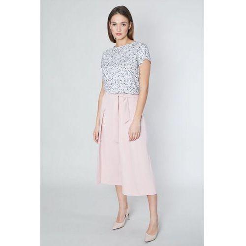 Spodnie damskie model famati 10514 pink, Click fashion
