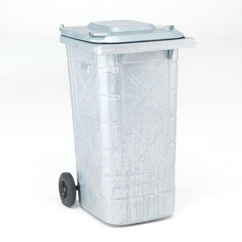 Pojemnik na odpady edward, 240 l, stal galwanizowana marki Aj produkty
