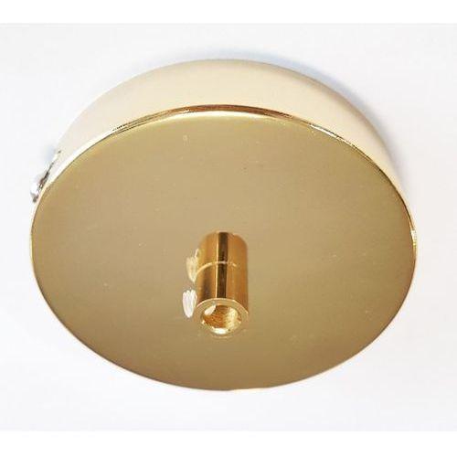 Metalowa podsufitka Markslojd Arto do lampy wiszącej okrągła złota 128025