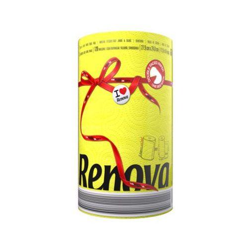 RENOVA 1szt Żółty Red Label Ręcznik papierowy