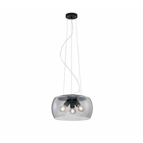 valente 300600342 lampa wisząca zwis 3x60w e27 antracytowa/dymiona marki Trio