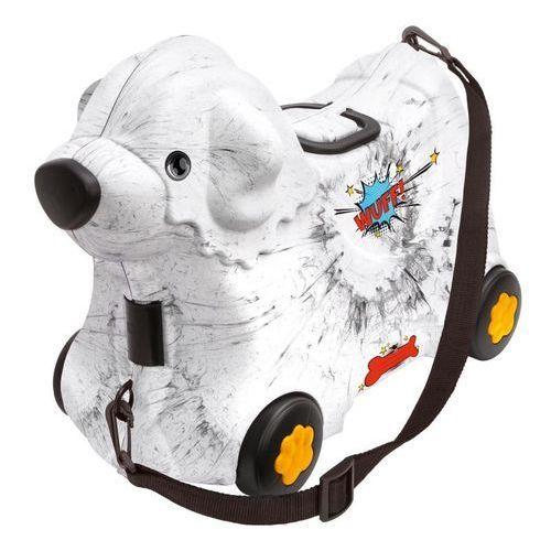 BIG Jeżdżąca walizka Jeździk Bobby Trolley Biała, LEK-6663