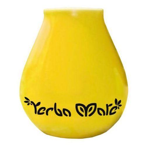 350ml luka yellow matero ceramiczne żółte | darmowa dostawa od 150 zł! wyprodukowany przez Yerba mate