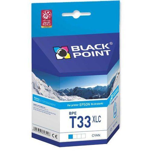 Wkład atramentowy bpet33xlc zamiennik epson 33xl (c13t33624012) marki Black point