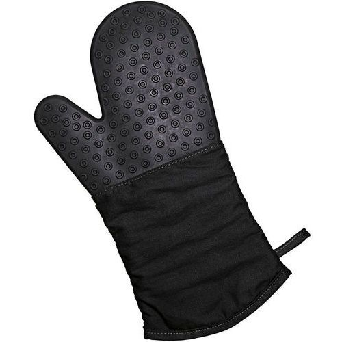 Rękawica kuchenna silikonowo-bawełniana Lurch czarna (LU-00070090)