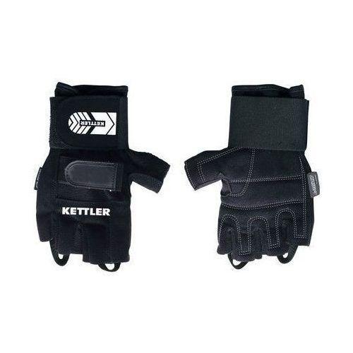 KETTLER - 7371-438 - Rękawiczki treningowe Pro dla mężczyzn (XL) - XL, kolor czarny