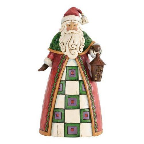 Mikołaj z światełkiem świąt (the light of chrismas), 4034362 figurka ozdoba świąteczna marki Jim shore