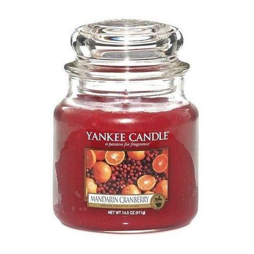 Świeca YANKEE słoik średni Mandarin Cranberry - YSSMC, 5038580061918