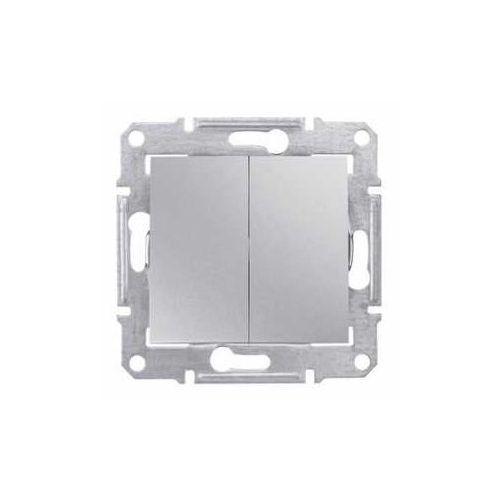 Schneider electric Łącznik podwójny schneider sedna sdn0300160 świecznikowy aluminium (8690495032505)