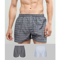 New Look 2 pack woven boxer trunks - Grey
