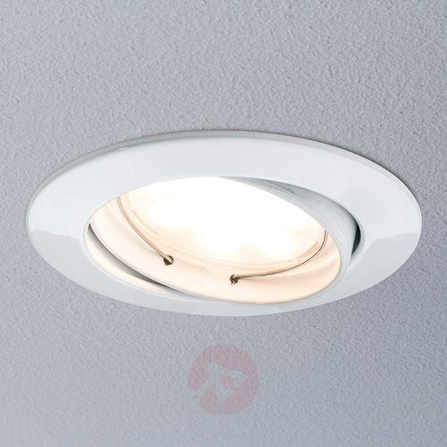 Lampa wpuszczana LED Coin IP23, 3cz. biał. mat.