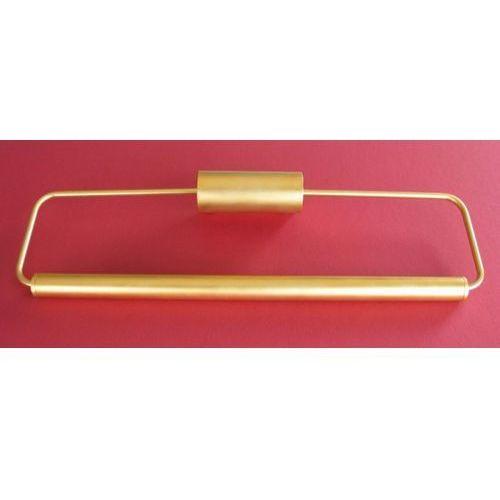 Kinkiet galeriowy galeria mak złoto-satyna, 66244 marki Ramko