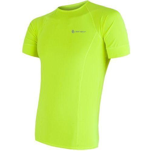 męska koszulka coolmax fresh yellow l marki Sensor