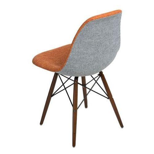 Krzesło P016W Duo inspirowane DSW dark - pomarańczowy ||szary, d2-4985