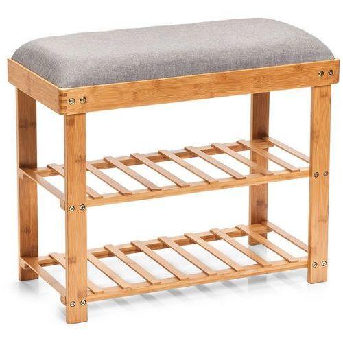 Bambusowa szafka na buty z siedziskiem, siedzisko do przedpokoju, stojak na buty, regał na buty, ławka na buty, meble bambusowe, marki Zeller - OKAZJE
