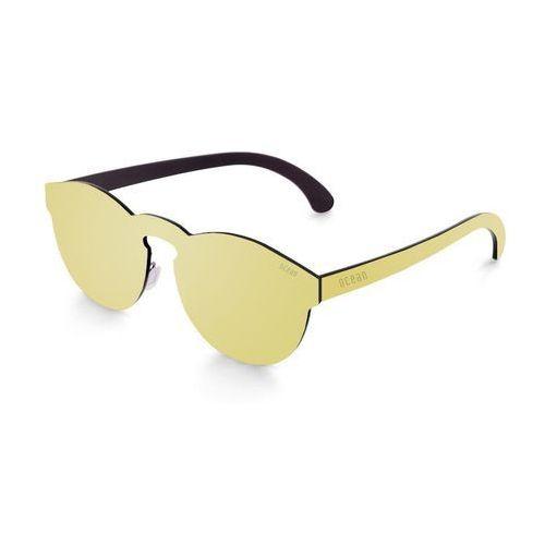 Okulary Przeciwsłoneczne Unisex Ocean Sunglasses 22-5_LONGBEACH Złote, kolor żółty