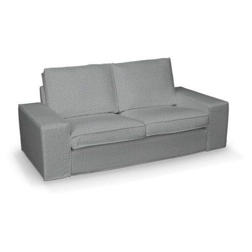 pokrowiec na sofę kivik 2-osobową, nierozkładaną, jasny popiel, sofa kivik 2-osobowa, living marki Dekoria