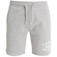 Tommy Jeans ESSENTIAL GRAPHIC Spodnie treningowe light grey heather, w 6 rozmiarach