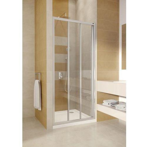 OMNIRES BRONX Drzwi 80cm, chrom, transparentne S-20A3_80