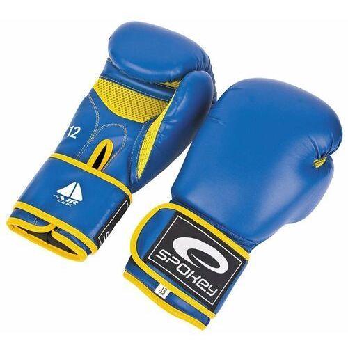 Rękawice bokserskie Spokey Hayen niebieskie - Niebieski