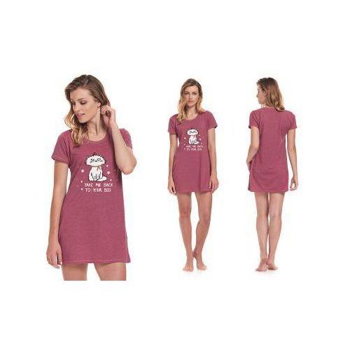 Koszula nocna erna: amarantowy, Dobranocka