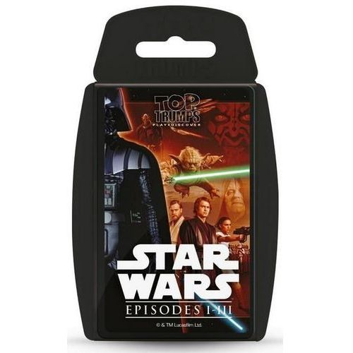 Winning moves Gra - top trumps star wars i-iii (5036905027625)