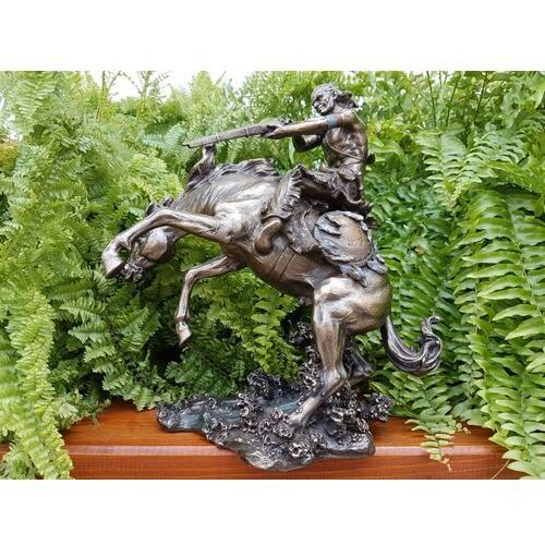 Veronese Indianin na koniu skaczącym nad wodą (wu75780a4)