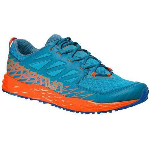 buty do biegania męskie lycan tropic blue/tangerine 46 marki La sportiva