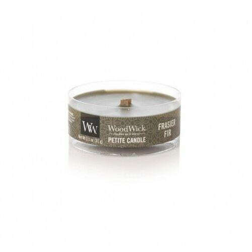 Woodwick mała świeca petite frasier fir