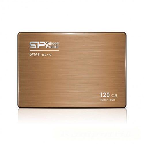 """Dysk SSD Silicon Power V70 120GB 2.5"""" SATA3 (550/510) BOX, SP120GBSS3V70S25 - OKAZJE"""