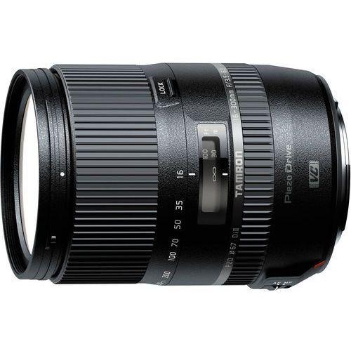 Tamron obiektyw 16-300 mm f/3.5-6.3 Di II VC PZD (Canon) + Velbon statyw EX-macro (4960371005829)