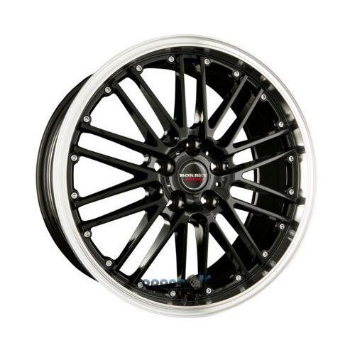 cw2 black rim polished einteilig 8.00 x 17 et 35 marki Borbet