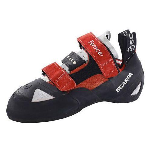 Scarpa feroce but wspinaczkowy czerwony/czarny 41 buty wspinaczkowe na rzepy