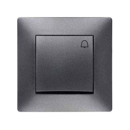 Elektroplast Przycisk dzwonek elektro-plast volante grafitowy (5902012983362)