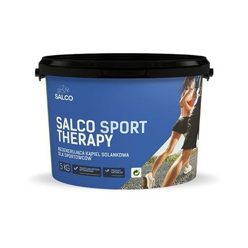 Regenerująca sól do kąpiel Sport Therapy SALCO 5 kg