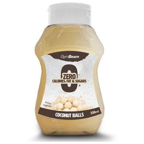 syrop bez kalorii o smaku kuleczek kokosowych 350 ml marki Gymbeam