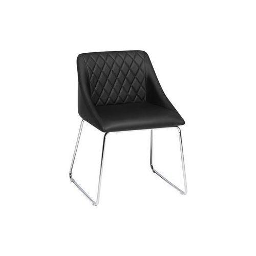 Krzesło do jadalni czarne ARCATA
