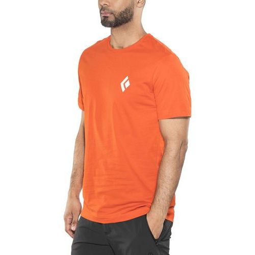 equipment for alpinists tshirt z nadrukiem octane marki Black diamond